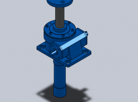 JWM梯形涡轮丝杆升降机