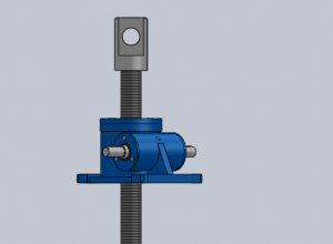 SWL50涡轮丝杆升降机